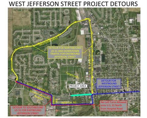 Jefferson Street Road Construction Blog Post Featured Image